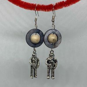 Jewelry - Astronaut earrings handmade